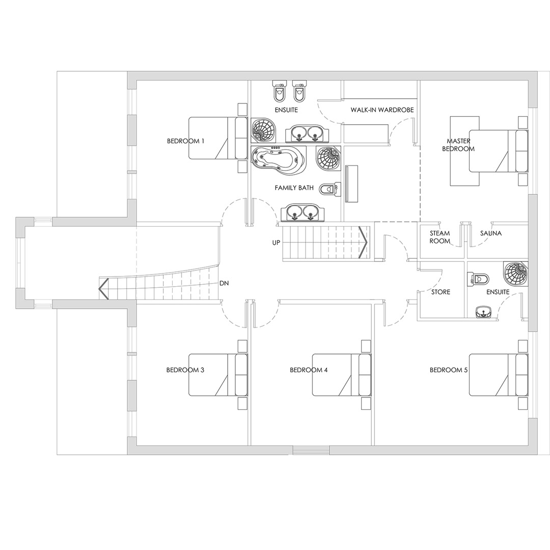 7 Bed House Plans_FF