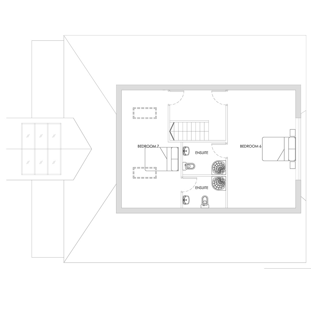 7 Bed House Plans_SF