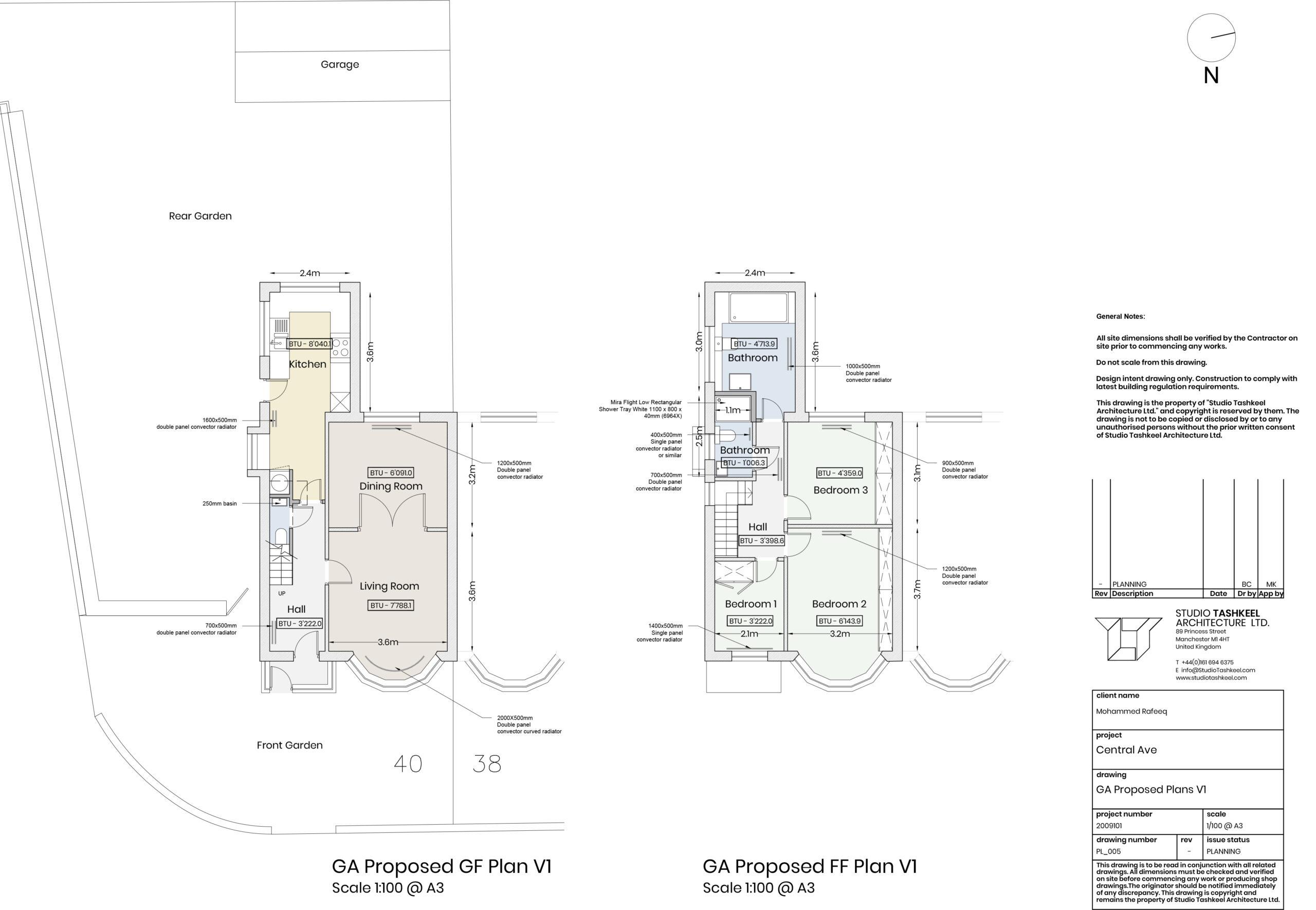 PL005 – GA Proposed Plans V1