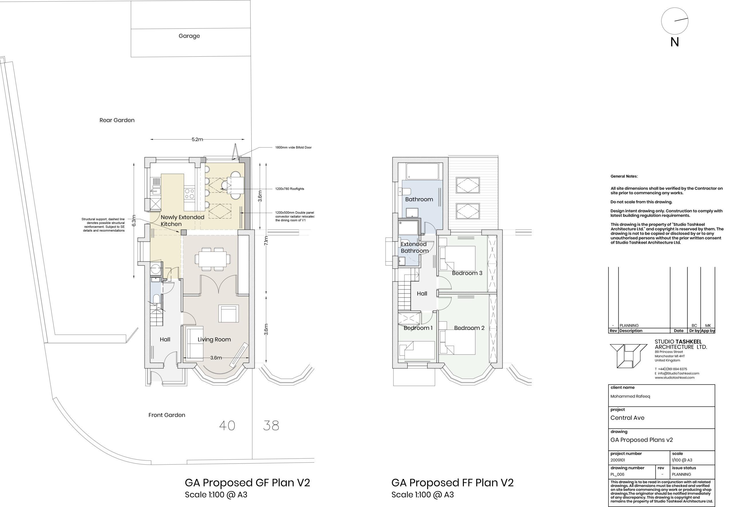 PL006 – GA Proposed Plans V2